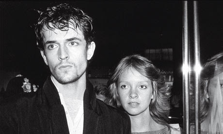 Rupert Everett and Sabrina Guiness, 1982