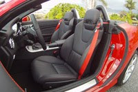 2012 Mercedes-Benz SLK seats
