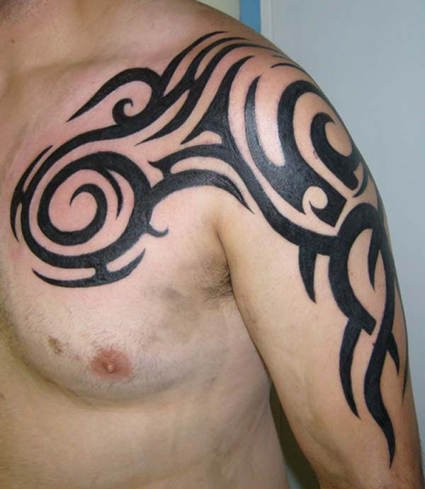 Shoulder Tattoos For Men Tribal Design Other