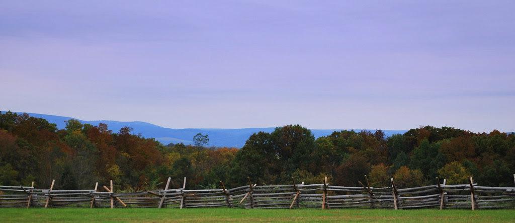 Gettysburg Battlefield vista