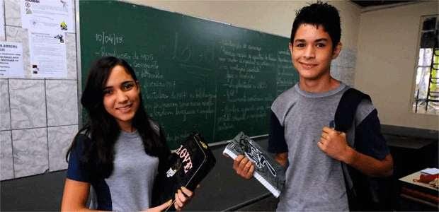 Dalva Lima e Carlos Assunção sentem hoje benefícios de terem começado a vida escolar 12 meses mais cedo (EULER JÚNIOR/EM/D.A Press)