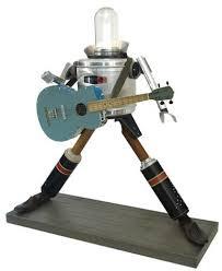 Gitar çalan robot