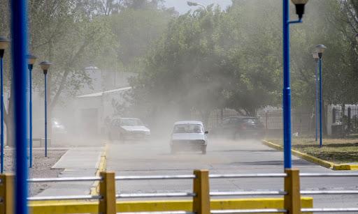ROCA: Alerta por fuertes vientos: Recién mejora el martes