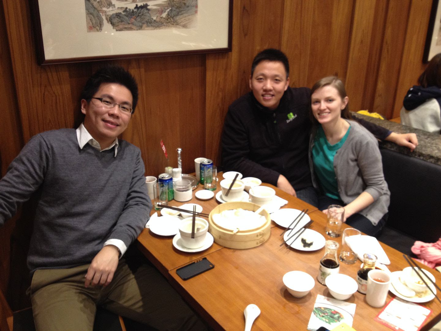 Michael's Friend Sean and Us in Taipei