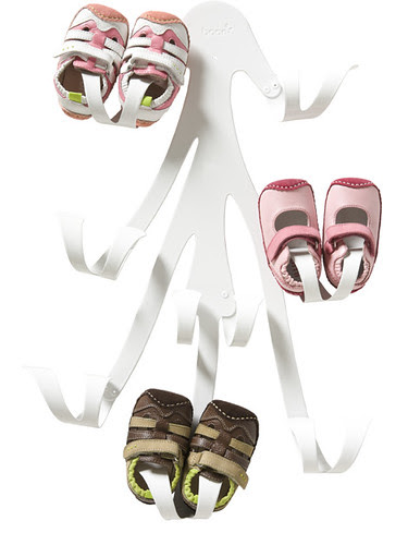 curl baby shoe rack