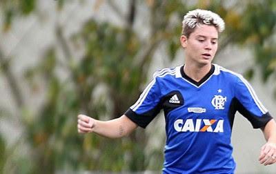 Carrossel Adryan treino Flamengo (Foto: Alexandre Vidal/Fla Imagem)