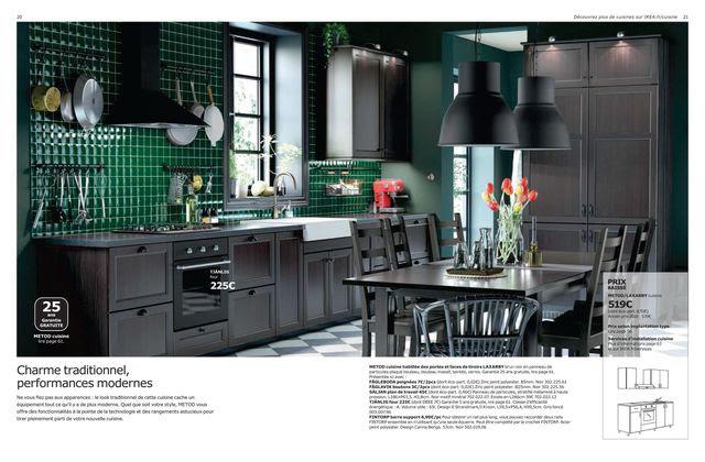 Cuisine Ikea Coup Doeil Sur Le Nouveau Catalogue 2017 Côté Maison