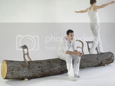 Tree-trunk Bench 2