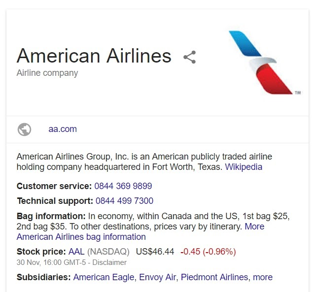 america-country4u: American Airlines UK Contact Number: 0207