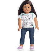 American Girl Cat Tee & Leggings Outfit for Dolls