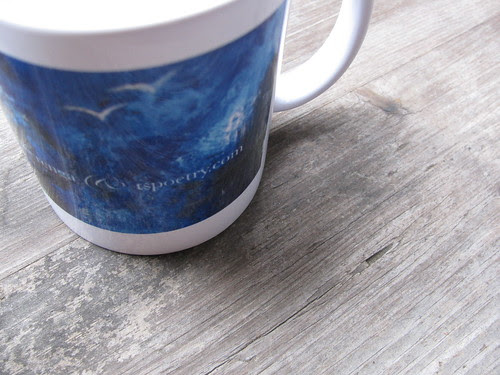 Mountains Mug Top
