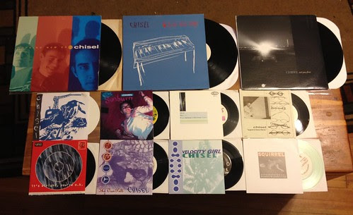 "Collection: Chisel - 7""s & LPs by Tim PopKid"