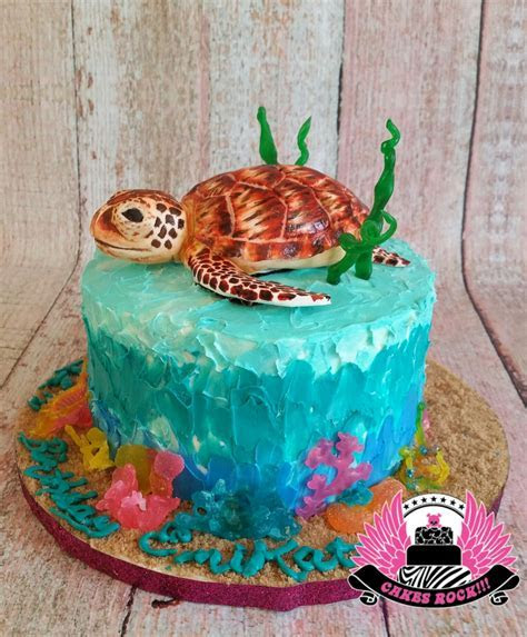 Sea Turtle   CakeCentral.com