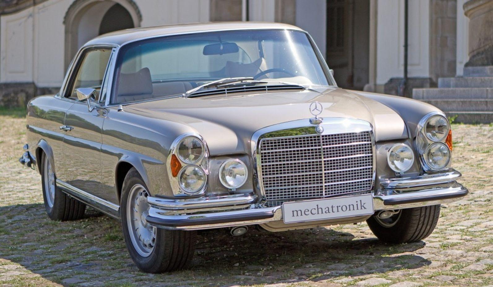 Restored Mercedes Benz 1964 W111 - YouTube |Mercedes Benz W111