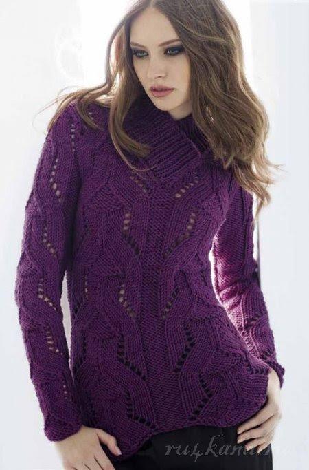 agujas de tejer suéter