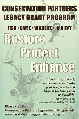 CPL logo - restore, protect, enhance, fish game wildlife habitat