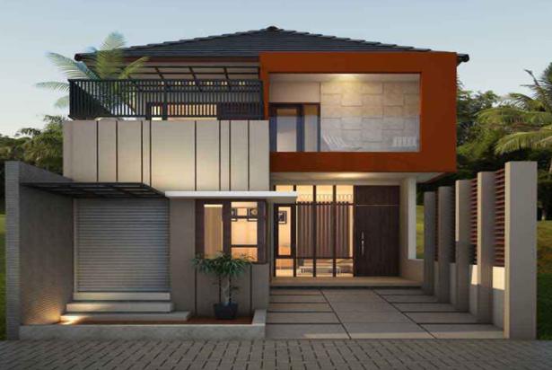 80 Desain Rumah Minimalis 2 Lantai 6x15 Terbaru 15
