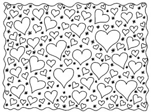 Heart Zen Anti Stress Adult Coloring Pages Page 6