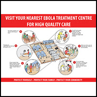 Visit your nearest Ebola treatment center