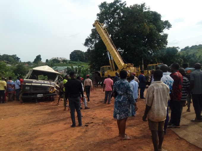 Enugu pupils accident: Controversies over medical bills, parents absolve government