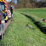 Tart | Un jeune cycliste grièvement blessé après une chute à Tart