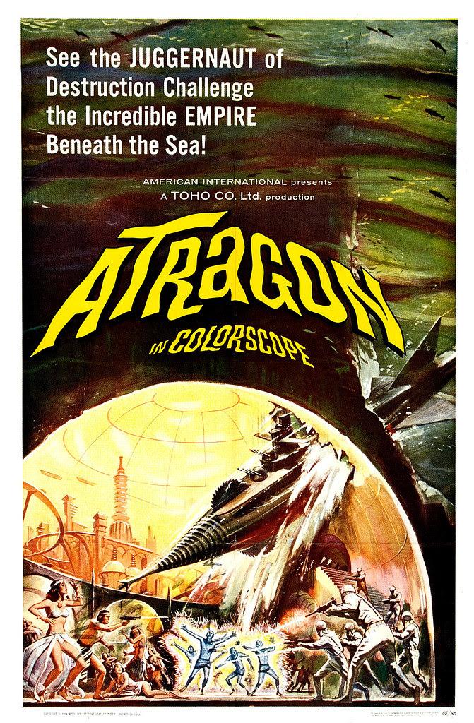 Reynold Brown - Atragon (American International, 1964)