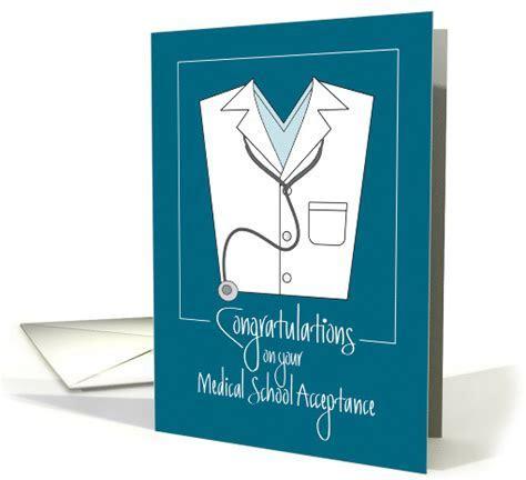 Congratulations Medical School Acceptance, Stethoscope