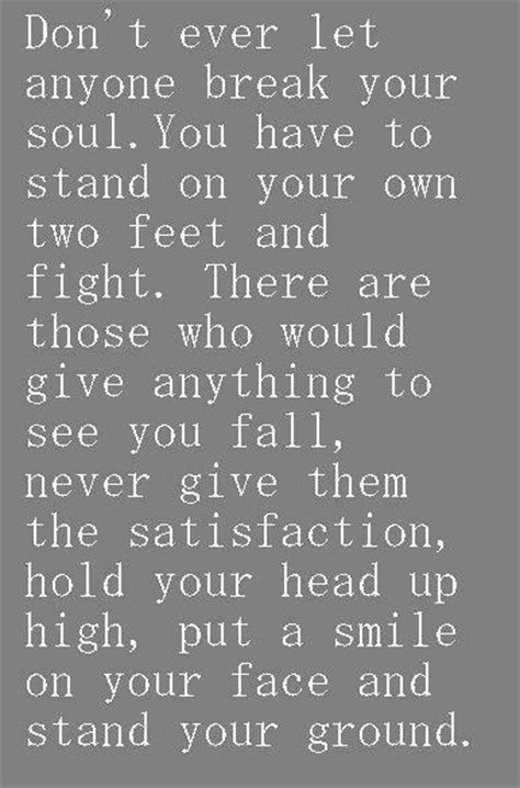 Standing On Your Own Feet Quotes