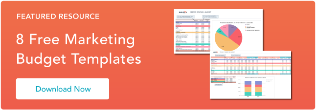 download free marketing budget templates