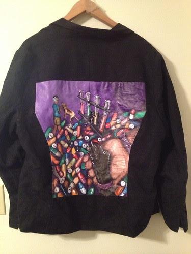 """""""Lab Power"""" a jacket for Lisa Donnarumma"""