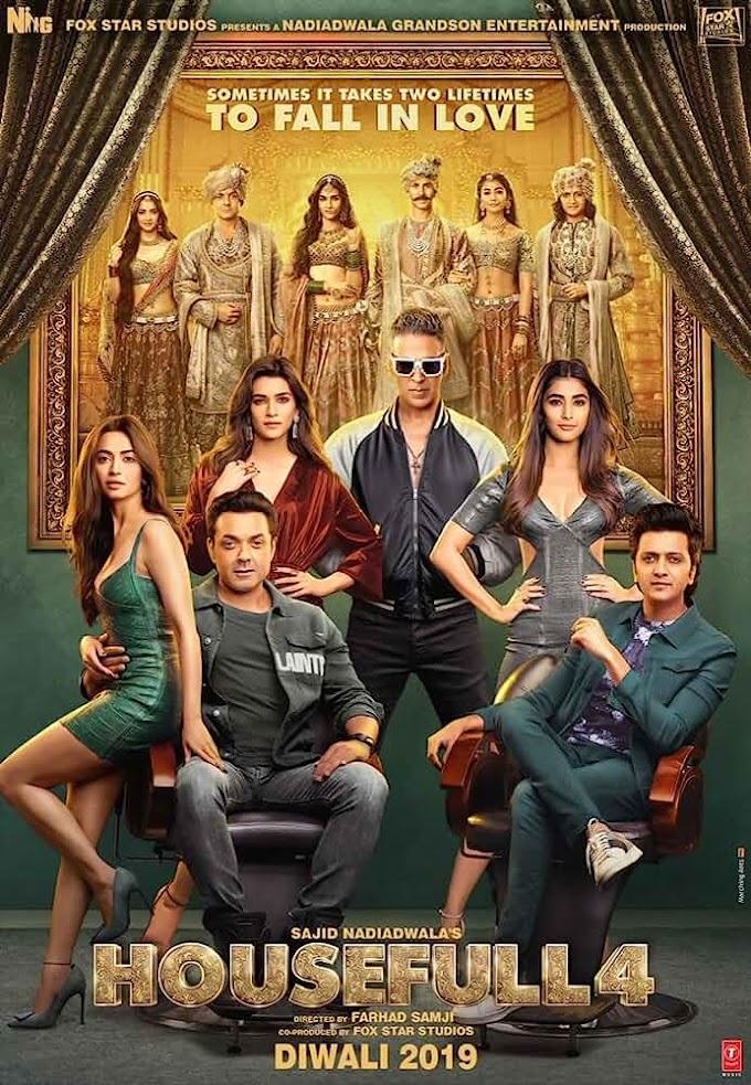 Housefull 4 (2019) Hindi Full Bollywood Movie 720p HDRip Download