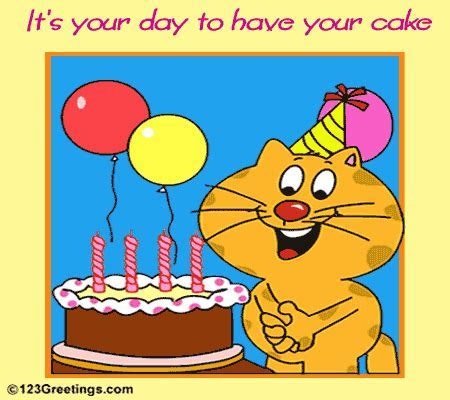 Have Your Cake  Free Cakes & Balloons eCards, Greeting