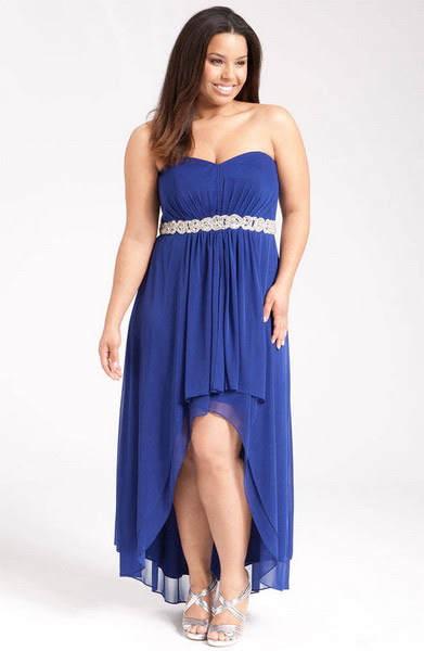 Plus size special occasion evening dresses