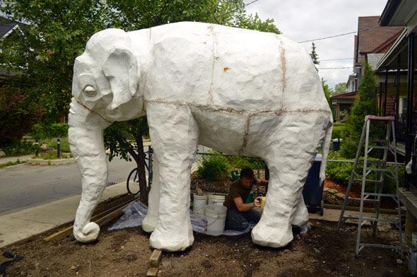 toronto elephant house