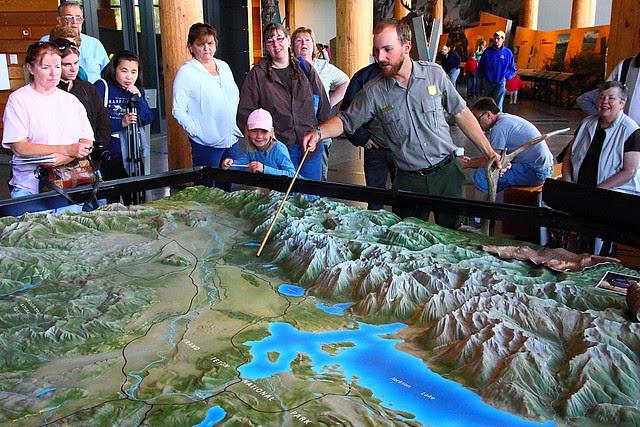 IMG_7783 Tourists Enjoying Ranger's Talk in the Visitor Center