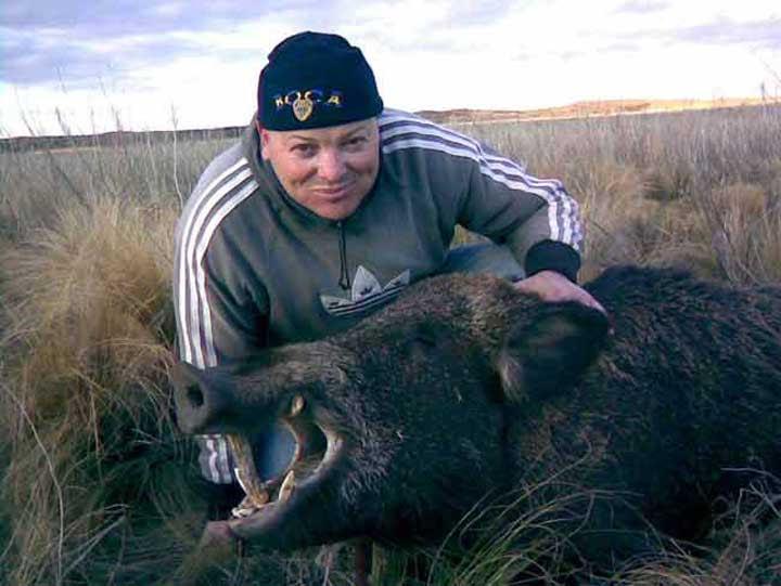 Región | Cazaron un jabalí de más de 100 kilos