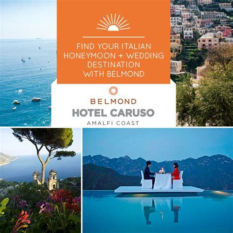 Marry or Honeymoon Along the Amalfi Coast at The Belmond