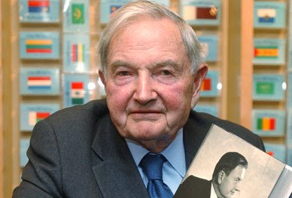David Rockefeller Sr : le plus vieux milliardaire du monde