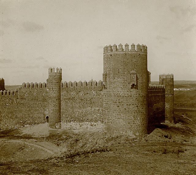 Castillo de San Servando en 1913. Fotografía de Luis Calandre Ibáñez