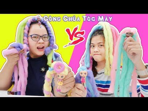 Thử Thách Thắt Tóc Mây Công Chúa Kẹo Bông Gòn Candylocks - Bình Chọn Nhận Quà