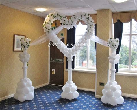 Balloon Heart Decoration   Backdrop   Arches in 2019