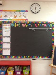 Magnetic towel bar used on board for displaying anchor charts...