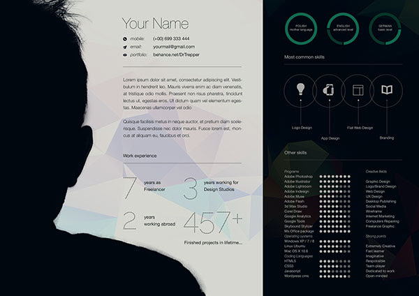 Creative Graphic Designer Cv Sample Best Resume Examples