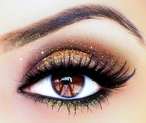 Pretty makeup looks for brown eyes