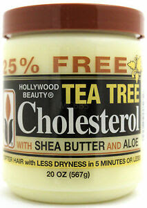 HOLLYWOOD BEAUTY TEA TREE SHEA BUTTER CHOLESTEROL DEEP ...