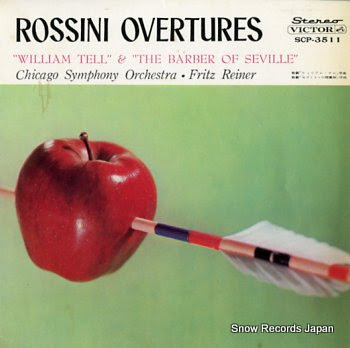 REINER, FRITZ rossini; william tell