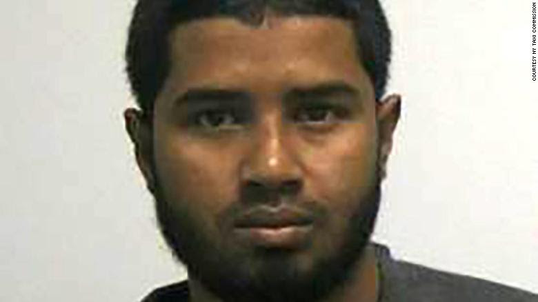 Akayed Ullah was taken into custody Monday.