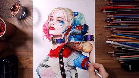 suicide squad harley quinn margot robbie speed