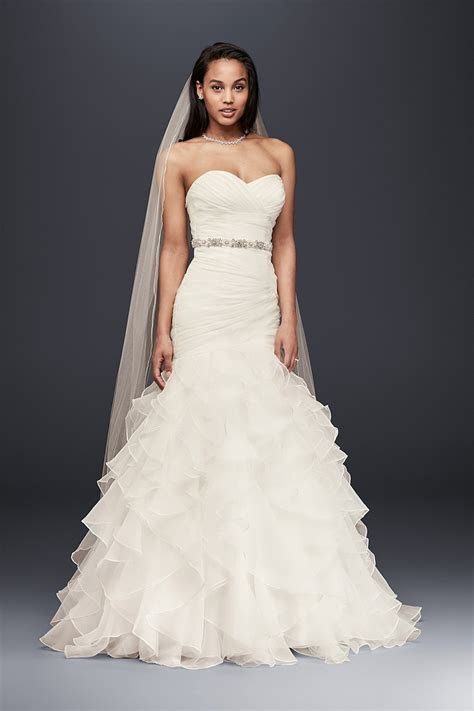 ruffles wedding dress  ruffles wedding dress