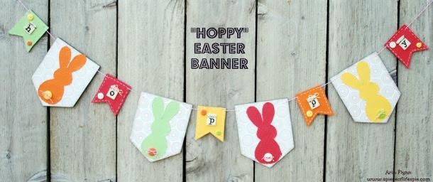 Hoppy Easter Banner Project 1